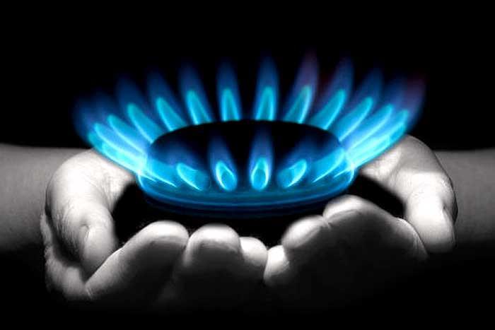 مصرف گاز