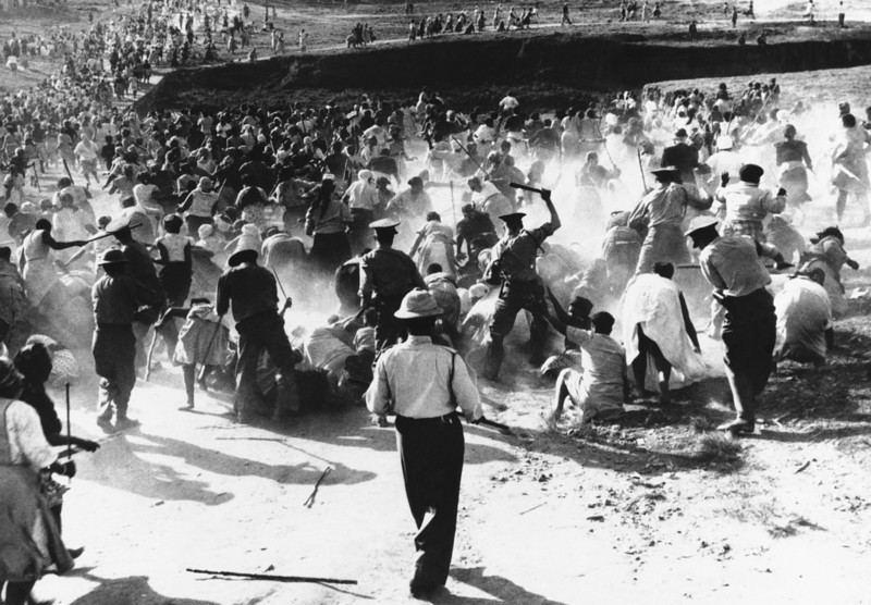 حمله به اعتراضات سیاه پوستان - 1959