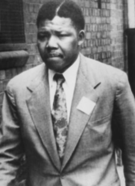 نلسون ماندلا در دوران مبارزه