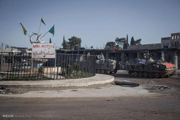 ورود نیروهای ترکیه به خاک سوریه
