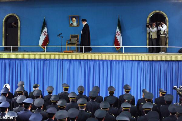 دیدار فرماندهان، مسئولان و جمعی از پرسنل نیروی هوایی ارتش و پدافند