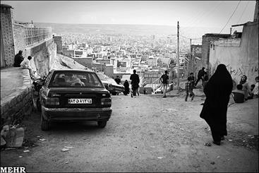 حاشیه نشینی در تبریز