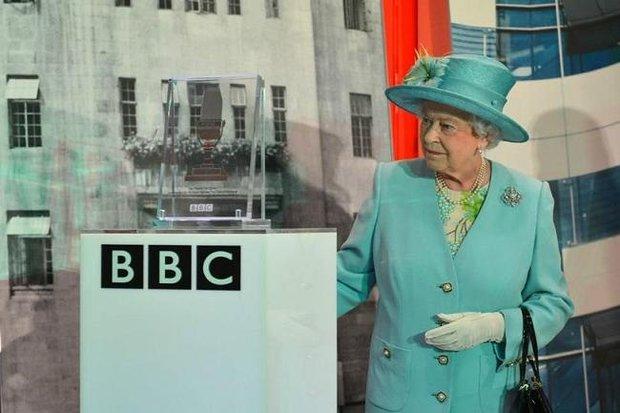 ملکه و BBC بی بی سی