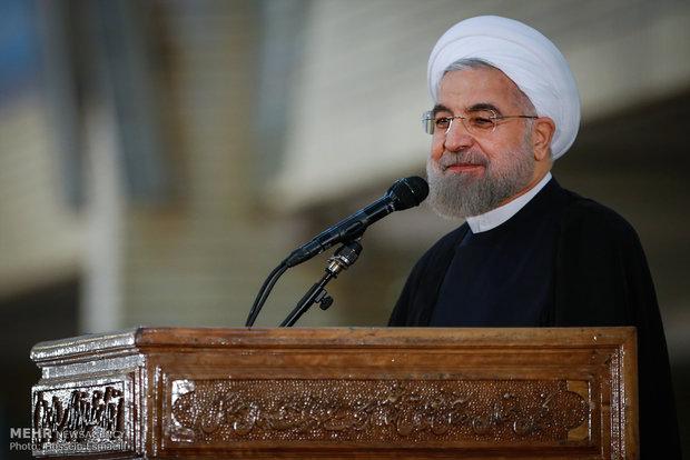 سخنرانی حجت الاسلام حسن روحانی رئیس جمهور در بیست و ششمین سالگرد رحلت بنیانگذار انقلاب اسلامی
