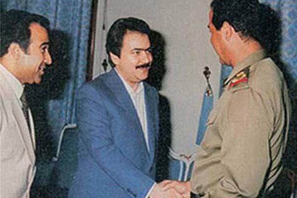 صدام و رجوی