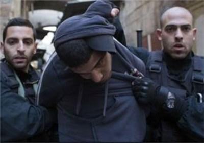 اسرائیل فلسطین بازداشت