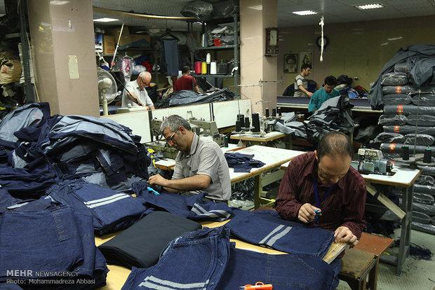 کارگاه تولیدی لباس با کارگران معلول