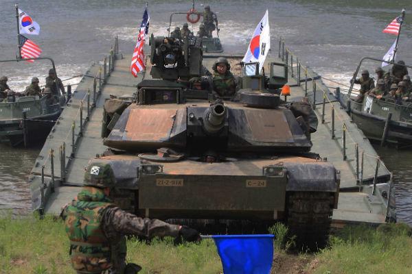 نظاممیان آمریکایی در کره
