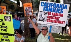 خبرگزاری فارس: تظاهرات در کالیفرنیا در اعتراض به قتل یک زندانی به دست مقامات زندان