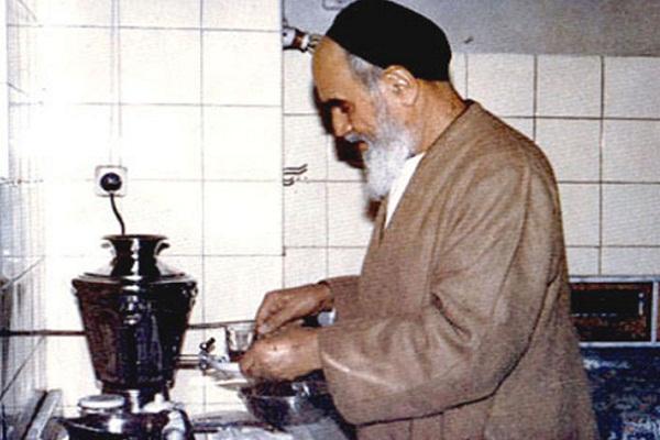 Image result for ساده زیستی امام